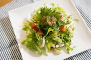 白菜とささみのサラダ 梅しそ和え|わっさんの食いしん坊野菜